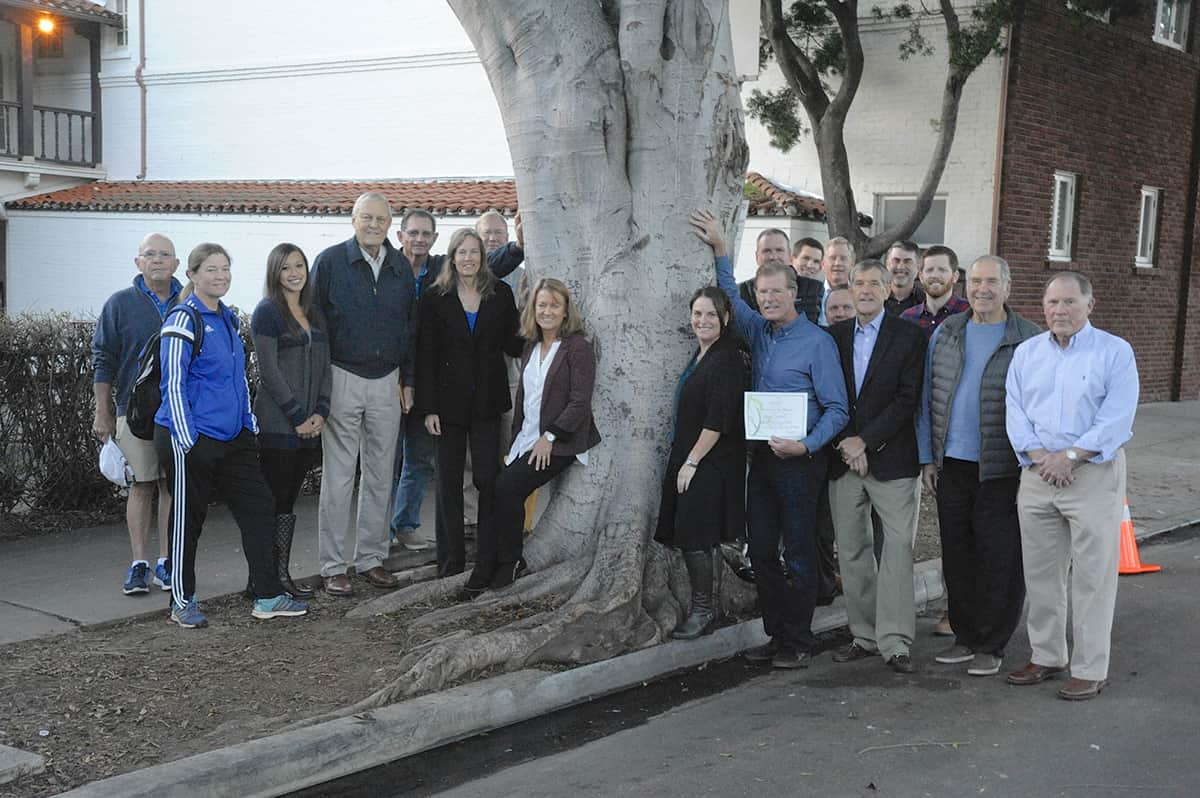 Commemorative Tree Dedication Santa Barbara Beautiful 2017