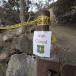 Montectio Trail - Romero Canyon closed